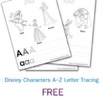 Disney Letter Tracing | Disney Letters, Tracing Letters