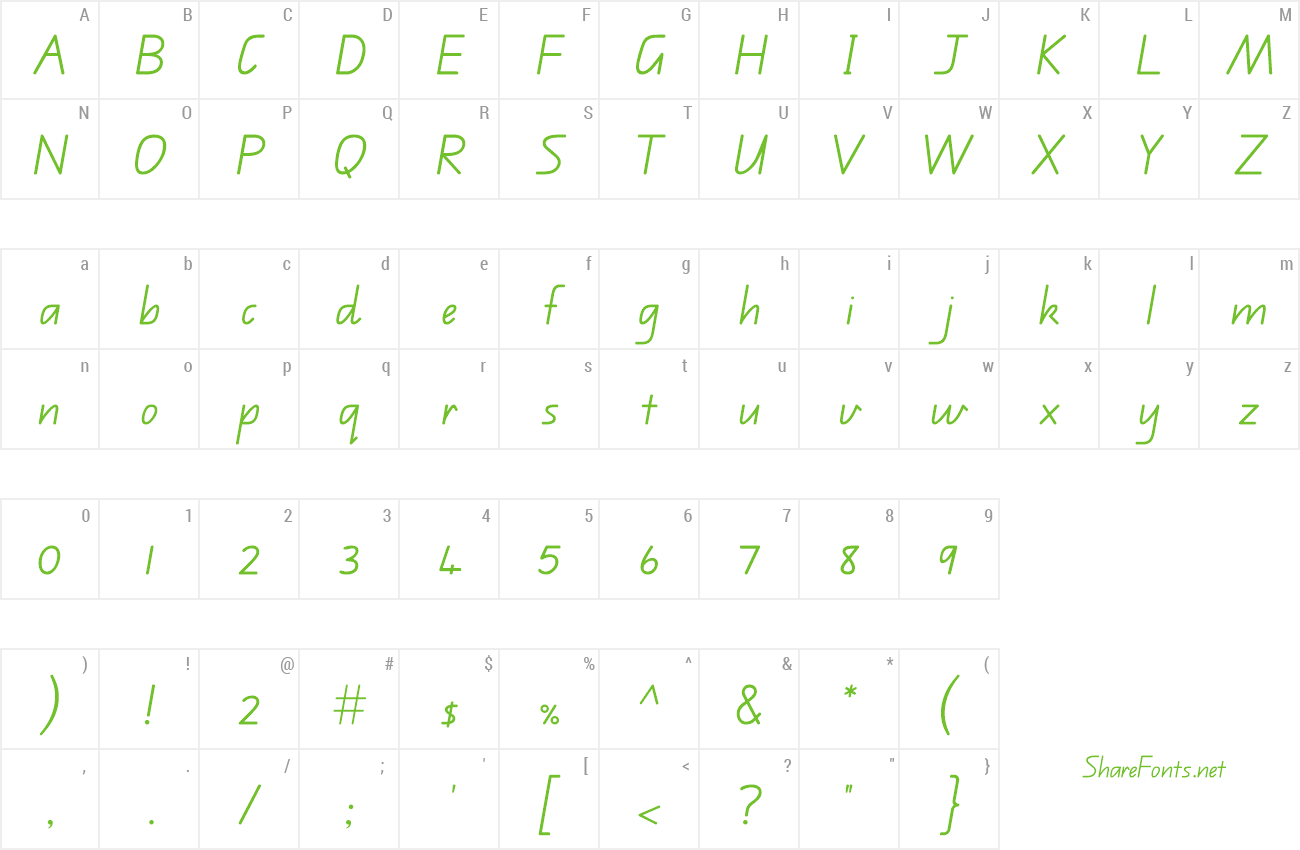 Download Free Font Qld School Handwriting