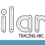 Download Nilam Tracing Abc Font | Fontsme