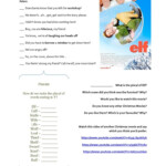 Elf The Movie - English Esl Worksheets For Distance Learning