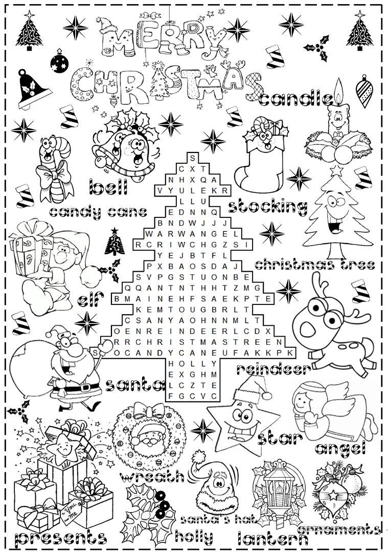 English Esl Christmas Worksheets - Most Downloaded (1106