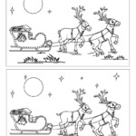 Find The Differences Online Games - Santa's Reindeers