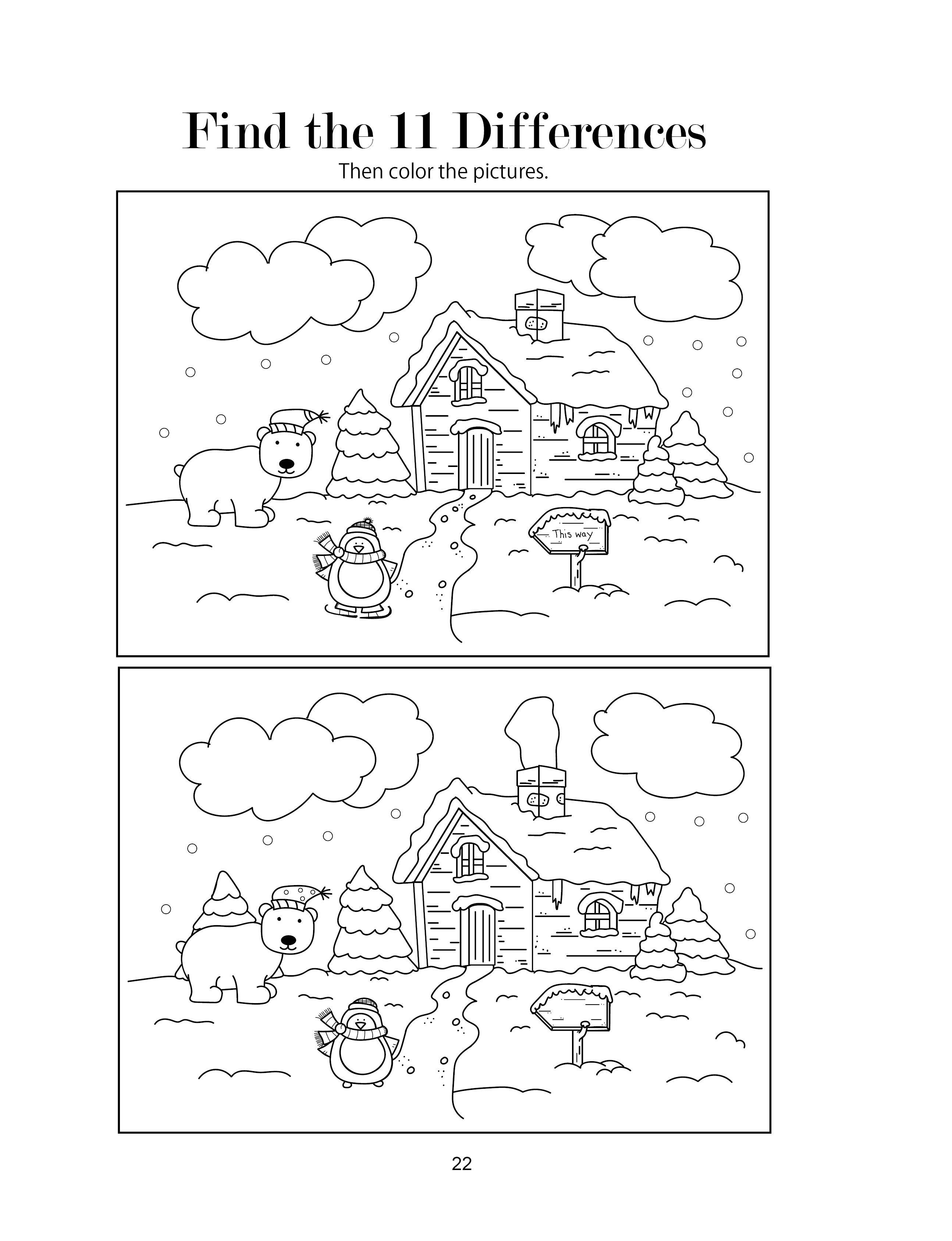 Free Christmas Activity Page | Christmas Activity Book