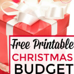 Free Christmas Budget Worksheet - What Mommy Does