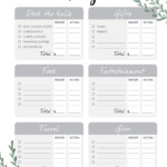 Free Christmas Checklist + Budget Printables – House Mix
