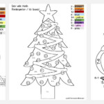 Free Christmas Colornumber