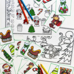 Free Christmas Language And Articulation Activities For