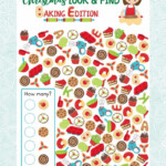 Free Christmas Look And Find Printable - Advent Calendar Day
