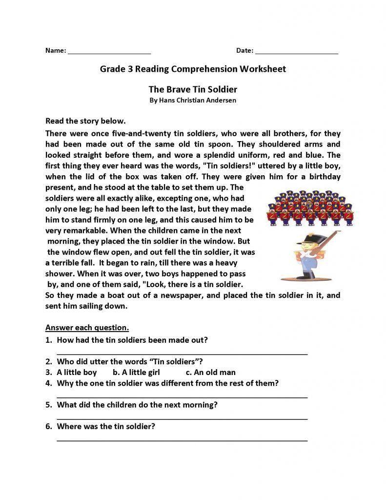 Free Christmas Reading Comprehension Worksheets Worksheet