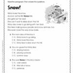 Free Christmas Readingion Activities Pdf With Answers Key
