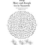 Free Christmas Worksheet | Free Bible Printables, Bible