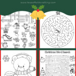 Free Christmas Worksheets: Coloring Sheets, Word Search