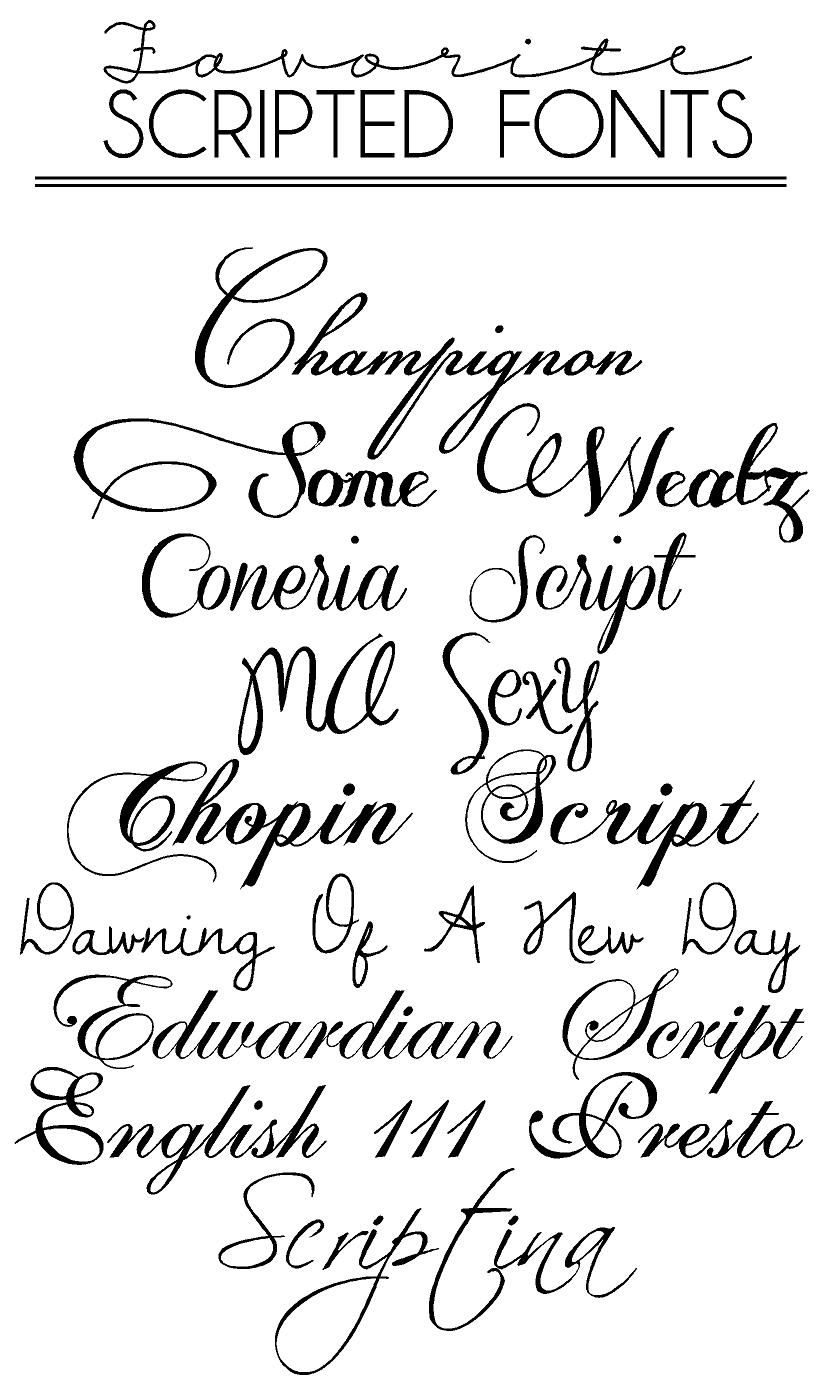 Free Fonts & Macaroons | Cursive Calligraphy Fonts, Free