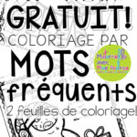 Free French Christmas Coloursight Word Sheets | French