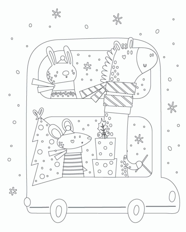 Free Printable Christmas Activity Sheets - High Chair Chronicles