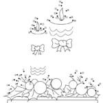 Free Printable Christmas Dot To Dot   Christmas Worksheets