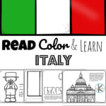 Free Read Color And Learn About Italy
