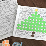 Free Solve And Stamp Christmas Math Worksheets