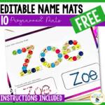 Full-Proof Editable Name Tracing Activities For Preschoolers