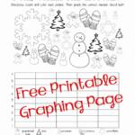 Graphing Worksheet Kindergarten Free In 2020   Christmas