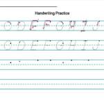 Handwriting Worksheet Creator {Free} – Diy Homeschooler