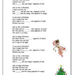 Happy Christmas Interactive Worksheet