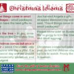 Ho Ho Ho! Idioms To Celebrate #christmas! | Christmas Words