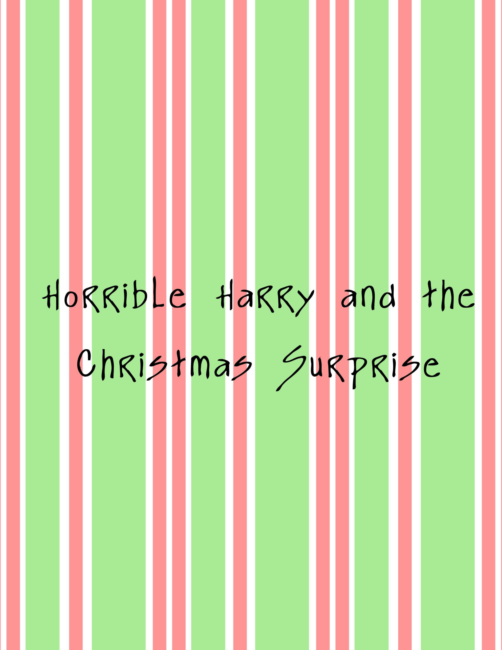 Horrible Harry And The Christmas Surprise | Christmas