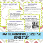 How The Grinch Stole Christmas Movie Study