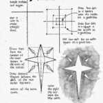 How To Draw An Easy Christmas Star, Printable Worksheet (How