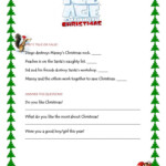 Ice Age Christmas Movie - English Esl Worksheets For