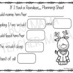 If I Had A Reindeer Writing Activity - Boy Mama Teacher Mama
