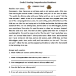 Johnny Cake Third Grade Reading Worksheets Tattoos Reading