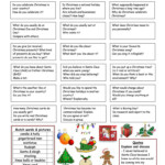 Let's Talk About Christmas - English Esl Worksheets For