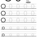 Letter O Tracing Worksheet, Alphabet Tracing | Letter