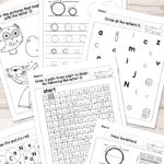 Letter O Worksheets - Alphabet Series - Easy Peasy Learners