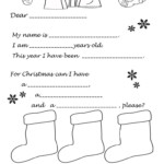 Letter To Father Christmas Or The Magic Kings - English Esl