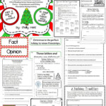 Literacy Centers 3Rd, 4Th, 5Th Grade | December Reading