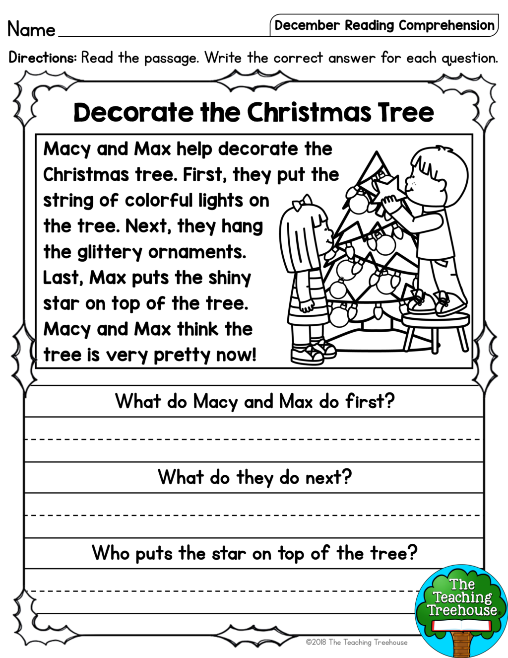 Marvelous 1St Grade Reading Comprehension Questions