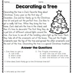 Math Worksheet ~ Reading Comprehension Passages And