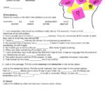 Memory Worksheet