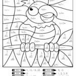Multiplication Coloring Worksheets 5Th Grade | Math Coloring