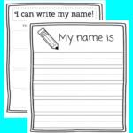 Name Tracing Printable – Eduprintables