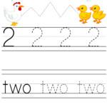Number 2 Preschool Worksheet From Abcpreschoolbox | Free