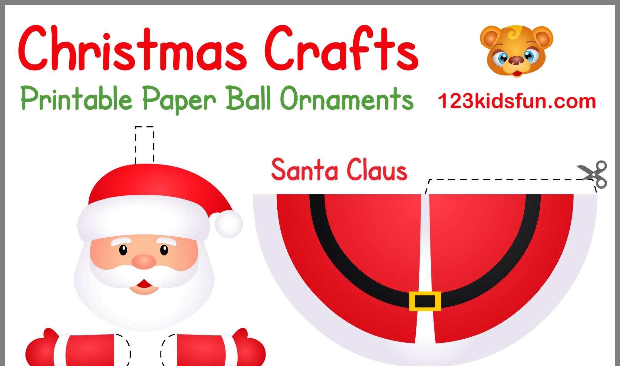 Pindrejci Ka On Božič   Christmas Crafts, Printable