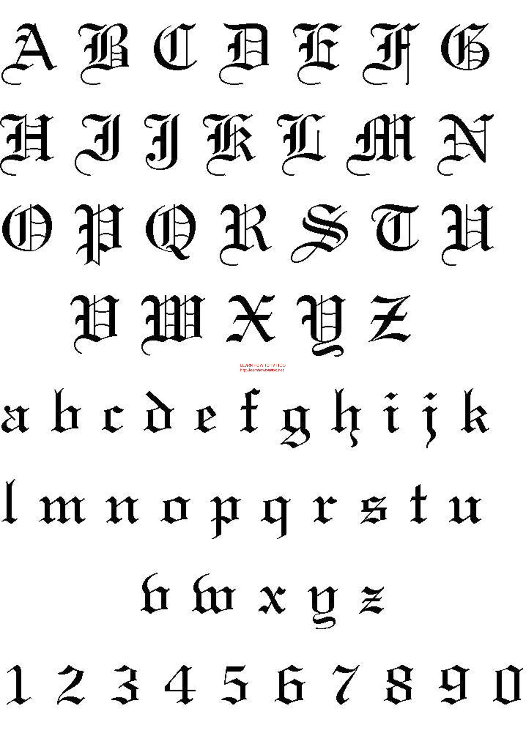 Pinkristiketo On Tattoos | Tattoo Fonts Alphabet