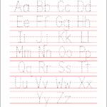 Preschool Worksheets Alphabet Tracing Letter A_39630