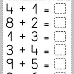 Printable Addition Activities For Kindergarten - Abc