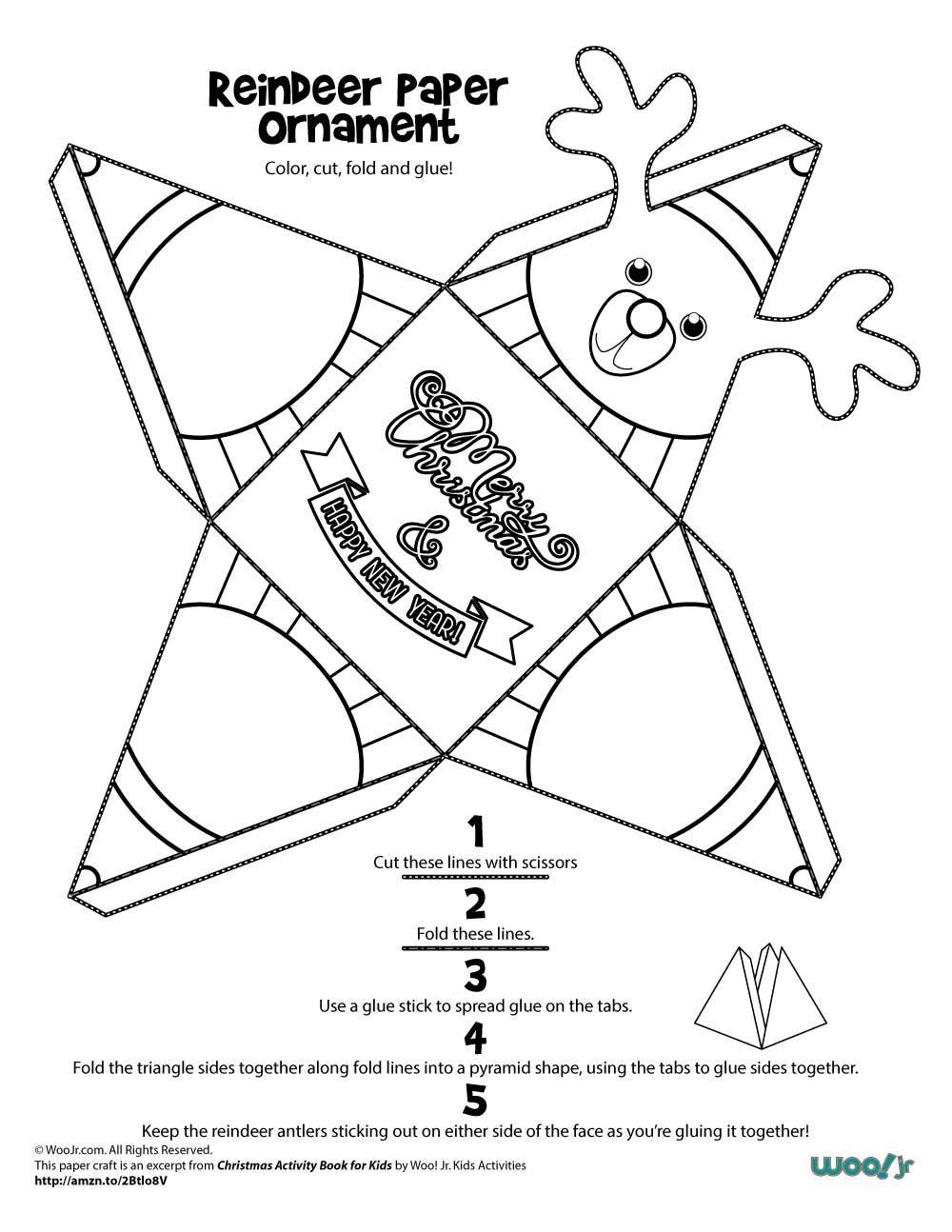 Printable Christmas Ornaments | Woo! Jr. Kids Activities