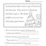 Printable Christmas Reading Worksheets For Kids | K5